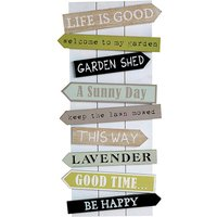 Juliana Country Living MDF Wall Plaque