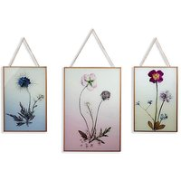Floral prints in Hanging Copper Frame