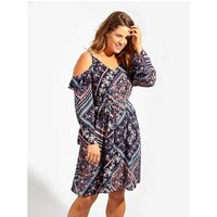 Lovedrobe GB Paisley Print Dress