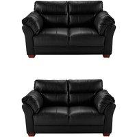Ancona Leather 2 Seater plus 2 Seater