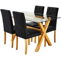 Albany Rectangular Table 4 Grace Chairs