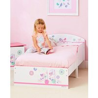 Flowers and Birdies Toddler Bed at JD Williams Catalogue