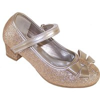 Sparkle Club Gold Heeled Shoes at JD Williams Catalogue