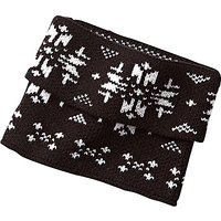 Snowflake Knit Boot Topper