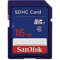 SanDisk 16GB SDHC Memory Card