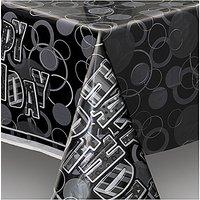 Glitz Plastic Table Cover