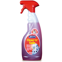 Johnsons Bird Clean n Safe Disinfectant 500ml Trigger