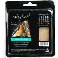 Mayfield Suet Tray with Peanuts Wild Bird Food x 6