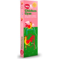 Feathers & Beaky Chicken Gym Hoop & Hurdle
