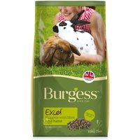 'Burgess Excel Nuggets With Mint Adult Rabbit Food 10kg