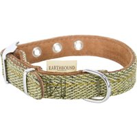 Earthbound Tweed Green Collar Medium