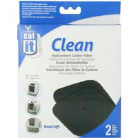 Catit Replacement Carbon Filter For Hooded Cat Litter Tray 2 Pack