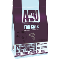 AATU 85/15 Salmon & Herring Adult Cat Food 3kg x 2