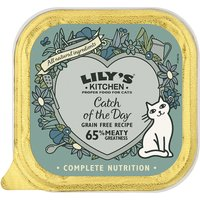 Lilys Kitchen Catch of the Day Complete Wet Cat Food 85g x 19