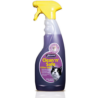 Johnsons Clean n Safe Litter Tray Disinfectant 500ml