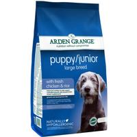 Arden Grange Chicken & Rice Large Breed Puppy Food 6kg
