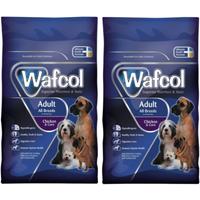 Wafcol Chicken & Corn Adult Dog Food 12kg x 2