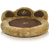 Scruffs Grizzly Bear Dog Bed Teddy - Large
