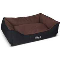 Scruffs Expedition Chocolate Waterproof Dog Bed Large