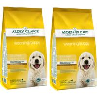 Arden Grange Chicken Weaning Puppy Food 6kg x 2