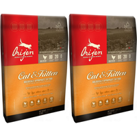 Orijen Cat & Kitten Food 5.4kg x 2