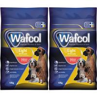 Wafcol Salmon & Potato Light Dog Food 12kg x 2