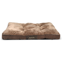 Scruffs Chester Mattress in Chocolate Dog Bed Large