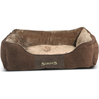 Scruffs Chester Box Dog Bed in Chocolate Large - Chocolate