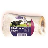 'Hollings Filled Bones Dog Treats Bacon