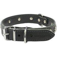 Earthbound Black Bone Dog Collar Extra Large