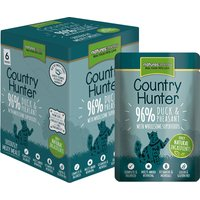 Natures Menu Country Hunter Duck & Pheasant Adult Cat Food Pouches 85g x 48