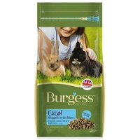 'Burgess Excel Nuggets With Mint Junior/dwarf Rabbit Food 2kg