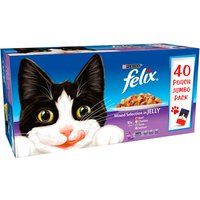 Felix Mixed Selection In Jelly Pouch Cat Food 100g x 40