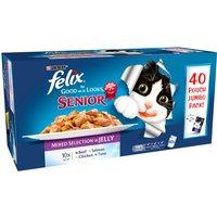 Felix As Good As It Looks Mixed Selection Senior Cat Food 100g x 40