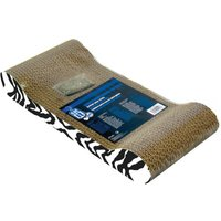 Catit Patterned Scratching Board with Catnip Tiger Design