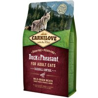 Carnilove Hairball Control Duck & Pheasant Adult Cat Food 2kg