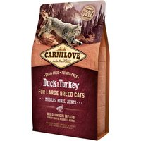 Carnilove Large Breed Duck & Turkey Adult Cat Food for Muscles, Bones & Joints 2kg