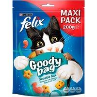 Felix Goody Bag Maxi Pack Cat Treats Seaside Mix 200g