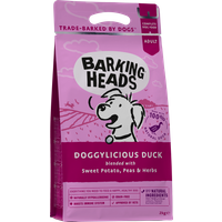 Barking Heads Doggylicious Duck Grain Free Adult Dog Food 2kg