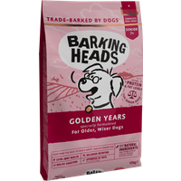 Barking Heads Golden Years Dry Senior Dog Food 12kg x 2