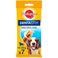 Pedigree Dentastix Medium Adult Dog Treat 7 Stick