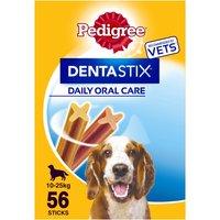 Pedigree Dentastix Medium Adult Dog Treat 56 Stick