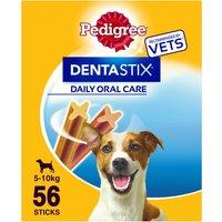 Pedigree Dentastix Small Adult Dog Treat 56 Stick