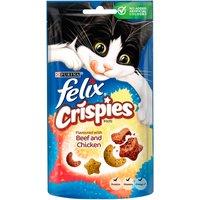 Felix Crispies Cat Treats Beef & Chicken 45g