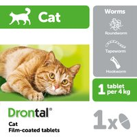 Drontal Cat Worming Tablets 1 tablet NFA-C
