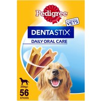 Pedigree Dentastix Large Adult Dog Treat 56 Stick