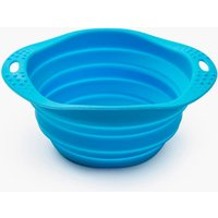 Beco Collapsible Travel Bowl Blue