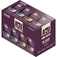 AATU Variety Pack Wet Adult Cat Food 85g x 10