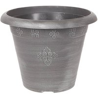 Medley Planter Round 45cm Silver 28 litres