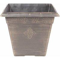 Medley Planter Square 40cm Bronze 31 litres